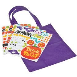 6 Trick-or-Treat Bag Craft Kits