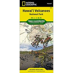 Hawaii Volcanoes National Park Trail Map