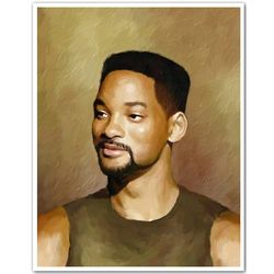 Will Smith Limited Edition Fine Art Print