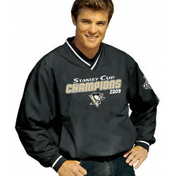 Pittsburgh Penguins 2009 Stanley Cup Champions Pullover Jacket