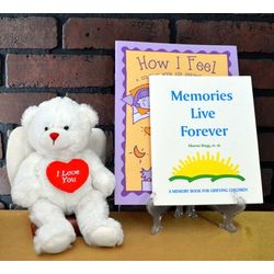 Children's Memory Bear Sympathy Gift Set