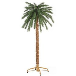 6' Lighted Palm Tree