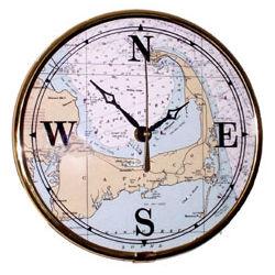 Brass Chart Time Clock