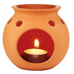 Natural Terracotta Oil Burner