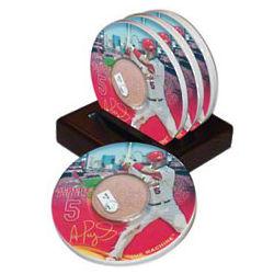 Albert Pujols St. Louis Cardinals Coaster Set