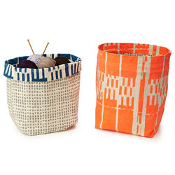 Reversible Canvas Storage Bin