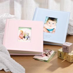 Blue or Pink Baby Photo Album