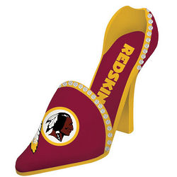 Washington Redskins Team Shoe Wine Bottle Holder