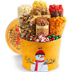 Frosty Friends Snack Assortment Tin