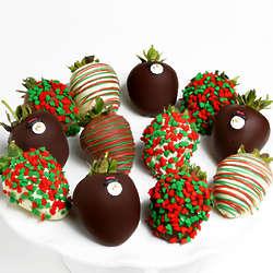 Gourmet Winter Chocolate Covered Strawberries