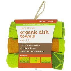 Morning Bloom Organic Kitchen Towels
