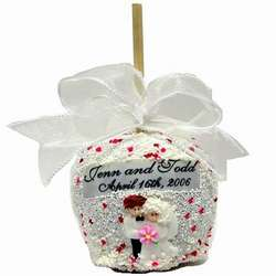 Wedding Chocolate Caramel Apple