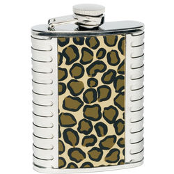 Lolita Leopard Purse Party Flask & Mini-tini Glass Set