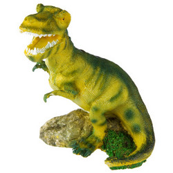 T-Rex Bubbling Jaw Opening Aquarium Ornament