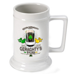 Personalized Irish Beer Stein