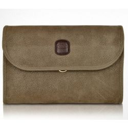 Life Olive Micro-Suede Toiletry Travel Kit