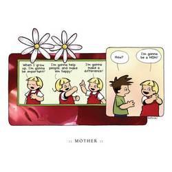 Mother Weekend Print