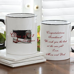 Personalized Graduation Quotation Ceramic Coffee Mug