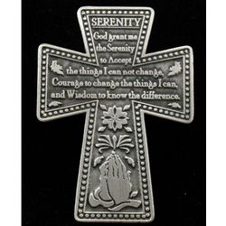 Serenity Prayer Visor Clip