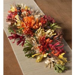 Autumn Splendor Cornhusk Centerpiece