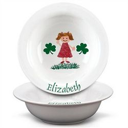 Personalized Irish Kid's Bowl