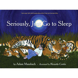 Seriously, Just Go to Sleep Book