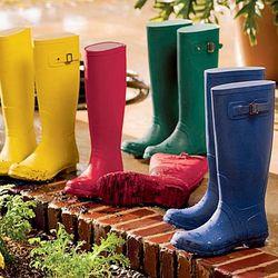 Women's Versatile Waterproof Garden Boot with Cotton Lining