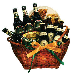 Irish Beer Gift Basket