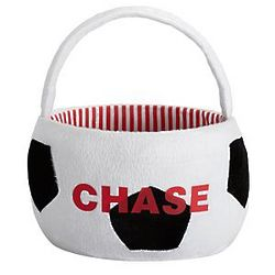 Personalized Soccer Easter Basket