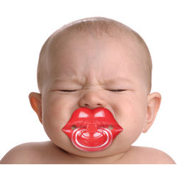 Red Lips Pacifier