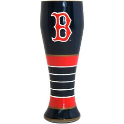 Boston Red Sox Artisan Hand Painted Pilsner Glass