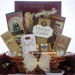 Peace & Prosperity Small Holiday Christmas Chocolate Gift Basket
