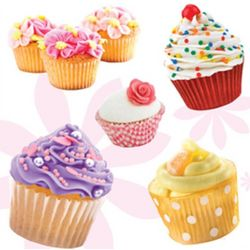 Cupcake Smelly Stickers