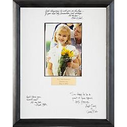 First Communion Personalized Autograph Frame