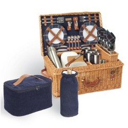 Windsor Picnic Basket and Picnic Supplies