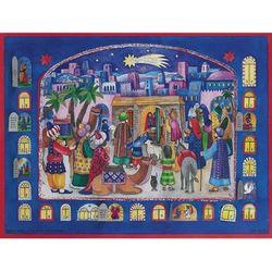 Bethlehem Town Nativity Scene Advent Calendar
