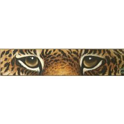 Cheetah Eyes Art on Canvas