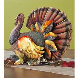 Shimmering Turkey Table Sculpture