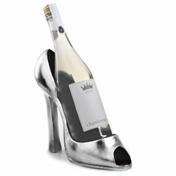 Parisian Chic High Heel Wine Holder