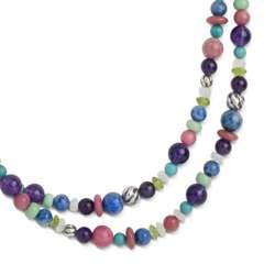 Pastel Beads Te Amo Necklace