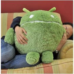 Round Android Plush Pillow