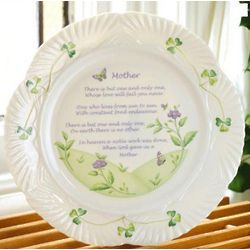 Belleek Mother's Blessing Plate