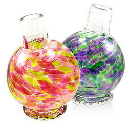 Oblique Glass Bud Vase