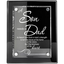 A Son Needs A Dad Poem Plaque