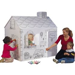 Cardboard Cottage Playhouse