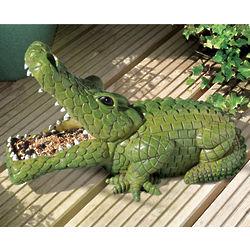 Crocodile Birdfeeder