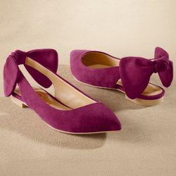Cheri Bow Ballet Flat Shoe