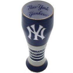 New York Yankees Artisan Hand Painted Pilsner Glass