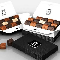 zBox 30 Delicious Decadence French Chocolates Gift Box