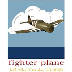 Brave Bomber Personalized Art Print